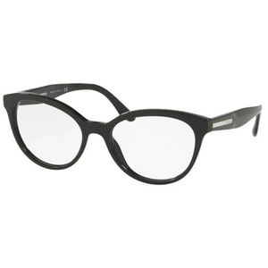 Prada Cat Eye Style Black W/Demo Lens